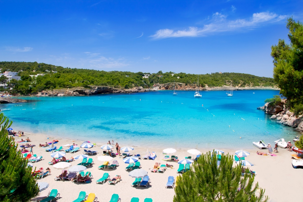 'Ibiza Portinatx turquoise beach paradise in Balearic Islands' - Ibiza